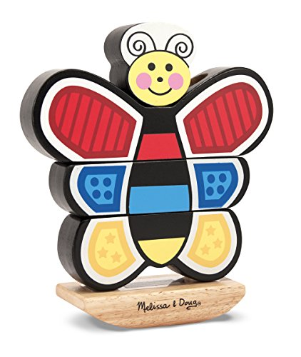 Melissa & Doug Butterfly Stacker - 1