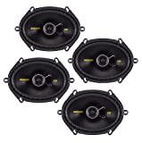 "4) New Kicker 40CS684 6x8"" 900W 2 Way Car Coaxial Speakers Stereo Audio CS684"