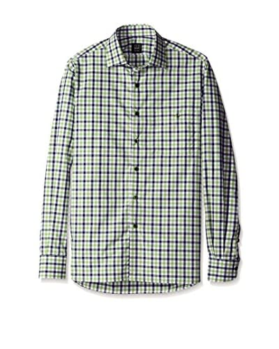 Ike Behar Men's Multi Check Sportshirt