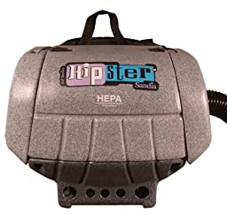 Sandia 30-3002 HEPA 1.5 HP Hipster Commercial Hip Vacuum with Power Head Accessory, 6 Quart Capacity
