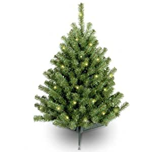 3 ft. Eastern Spruce Pre-Lit Christmas Tree - Clear
