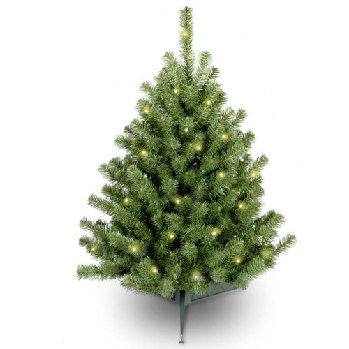 Pre-Lit Eastern Spruce Artificial Christmas Tree