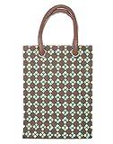 Jute Cottage Women's Shoulder Bag (Brown) (B-043-Brown)