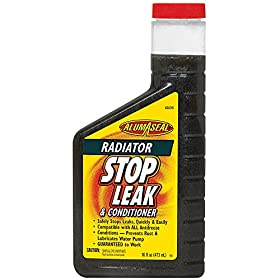 AlumAseal ASLC16 Radiator Stop Leak and Conditioner Liquid - 16 Fl oz.