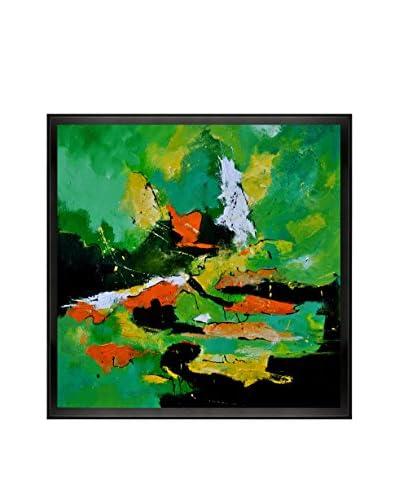 Pol Ledent Abstract 77410160 Framed Canvas Print