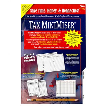 Daily Plan It Small Tax MiniMiser by Daily Plan It
