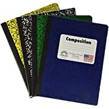 Norcom College Ruled 100 Sheets Composition Notebooks - Random Colors Chosen (Pack of 5)