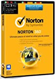 Norton 360 21.0 - 3 Computers, 1 Year Subscription (PC) [2014 Edition]