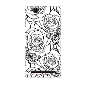 Designer Phone Covers - Sony Xperia T2-rose