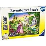 Ravensburger 12613 Principessa con cavallo- Puzzle da 200 pezzi