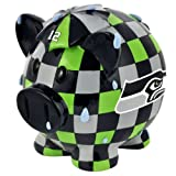 NFL Seattle Seahawks Resin Large Thematic Piggy Bank at Amazon.com