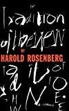 The Tradition Of The New (0306805960) by Harold Rosenberg