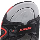 Sparx-Mens-SS425-Series-Black-Red-Synthetic-Casual-Floater-Sandals
