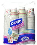 Dixie Bath Cups Coordinating Designs , 600 Count