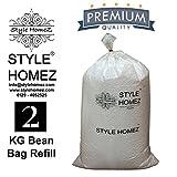 #3: Style Homez 2 Kg High Density Bean Bag Refill for Bean Bags