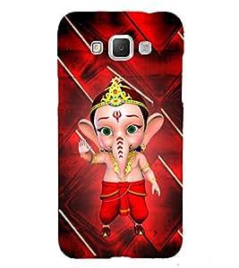 Little Ganesh 3D Hard Polycarbonate Designer Back Case Cover for Samsung Galaxy Grand Max G720