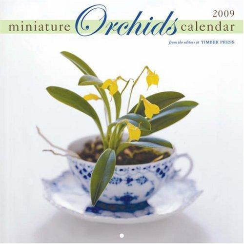 Miniature Orchids Wall Calendar 2009