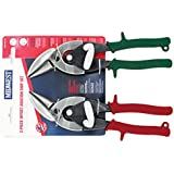 Midwest Tool and Cutlery MW-P6510C Snips Forged Blade Offset Aviation Snips Set, 2-Piece