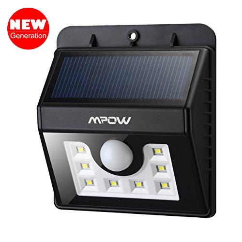 Solar lights for wall