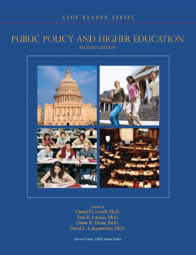 Public Policy and Higher Education (2nd Edition) (Ashe...
