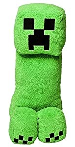 """Mojang Official Minecraft Creeper Plush with Sound by Jinx, 14"""" Large"""