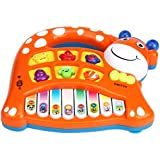 Abc Baby Kids Musical Educational Animal Farm Piano Developmental Music Toy - B018EA2JW4