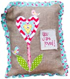 Glory Haus You are Loved Pillow, 9 by 12-Inch