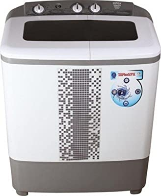 Intex WMS62TL Semi-automatic Top-loading Washing Machine (6.2 Kg, Grey)