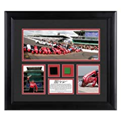 Ryan Newman 2013 Brickyard 400 Race Winner Framed 3-Photograph Collage with Race-Used... by Sports Memorabilia