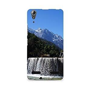 TAZindia Designer Printed Hard Back Case Mobile Cover For Lenovo A6000