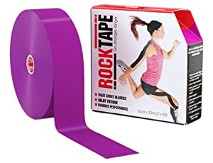 RockTape Active-Recovery Kinesiology Tape for Atheltes, 2-Inch x 105-Feet by Rocktape