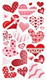 Sticko Funky Hearts Stickers