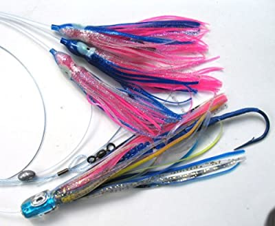 Tuna Bullet Daisy Chain Mahi Magician Fishing Lure For All Tuna Mahi Wahoo Marlin from Ancient Mariner Tackle