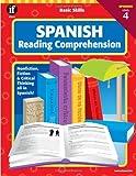 Basic Skills Spanish Reading Comprehension, Level 4 (Spanish Edition) (0742402355) by School Specialty Publishing