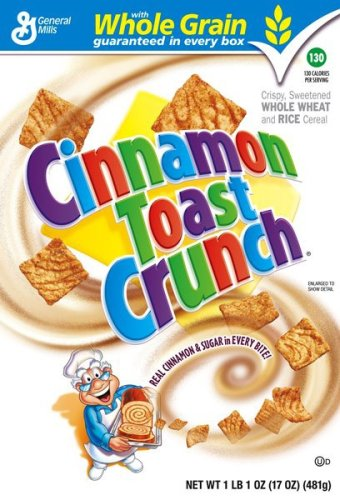 Buy Cinnamon Toast Crunch Cereal, 17-Ounce Box (Pack of 5) (General Mills, Health & Personal Care, Products, Food & Snacks, Breakfast Foods, Cereals)