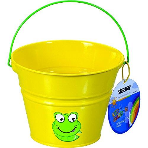 STOCKER seau jaune - Petits outils de jardinage