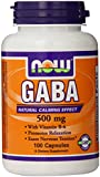 GABA by NOW - 100 capsules, 500 mg