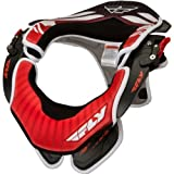 Fly Racing Valor Adult Neck Brace Off-Road/Dirt Bike Motorcycle Body Armor - Red/Black / Small/Medium