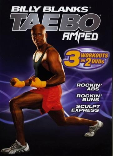 Tae Bo Amped Rockin Abs, Buns And Sculpt Express 2 DVDs set Region 0 Worldwide