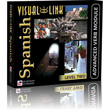 Visual Link Spanish Level 2 Verb Course Win/Mac