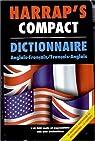 Harrap's Compact Dictionnaire Anglais-Fran�ais, Fran�ais-Anglais par Harrap's