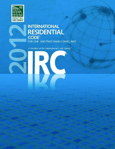 2012 International Residential Code for One- and Two- Family Dwellings - Soft-cover - ICC (distributed by Cengage Learning) - 3100S12 - ISBN:1609830423