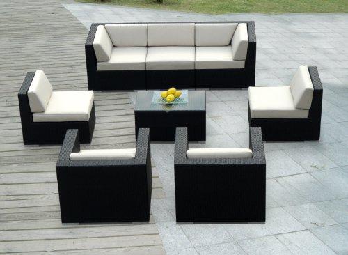Dayva Bc528b Tron Weve Extra Large Wicker Sofa Cover