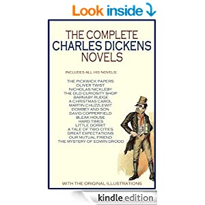 COMPLETE ILLUSTRATED CHARLES DICKENS NOVELS COLLECTION