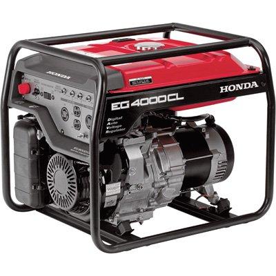 Honda 4,000 Watt Electronic Start Gas Powered Home RV Portable Generator EG4000 (Honda Gas Generator compare prices)
