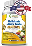 ★**MEGA DAILY MULTIVITAMIN & MINERAL WITH IRON**★MOST PACKED Top-Rated 5 STAR Multi Complex Ever●Our Premium Quality Supplement,EVERYTHING In ONE Solution●Pharmaceutical Grade Dietary Supplement●