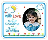 With Love to Great Grandma & Great Grandpa crayola Magnet Photo Frame