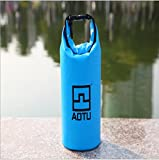 Netspower 1.5L Waterproof Dry Bag for Boating Kayaking Fishing Rafting Swimming Floating and Camping Sports & Outdoors Ultimate Dry Sack - Sky Blue