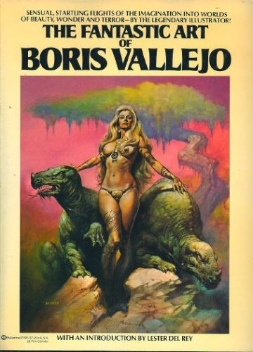 The Fantastic Art of Boris Vallejo, Boris Vallejo