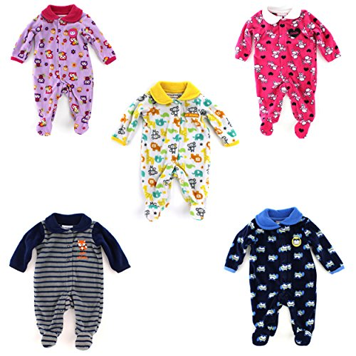 Buster Brown Baby Fleece Sleep N Play Sleeper Coverall